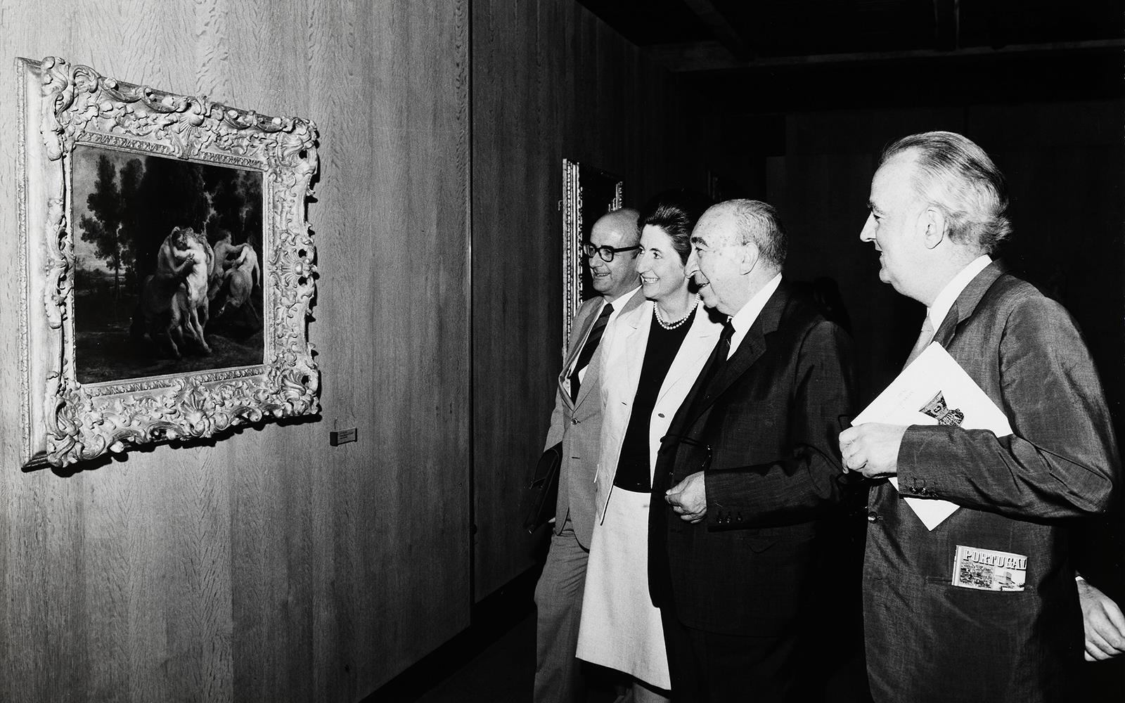 Algumas Obras de Pintura Contemporânea das Colecções da Secretaria de Estado da Informação e Turismo e da Fundação Calouste Gulbenkian