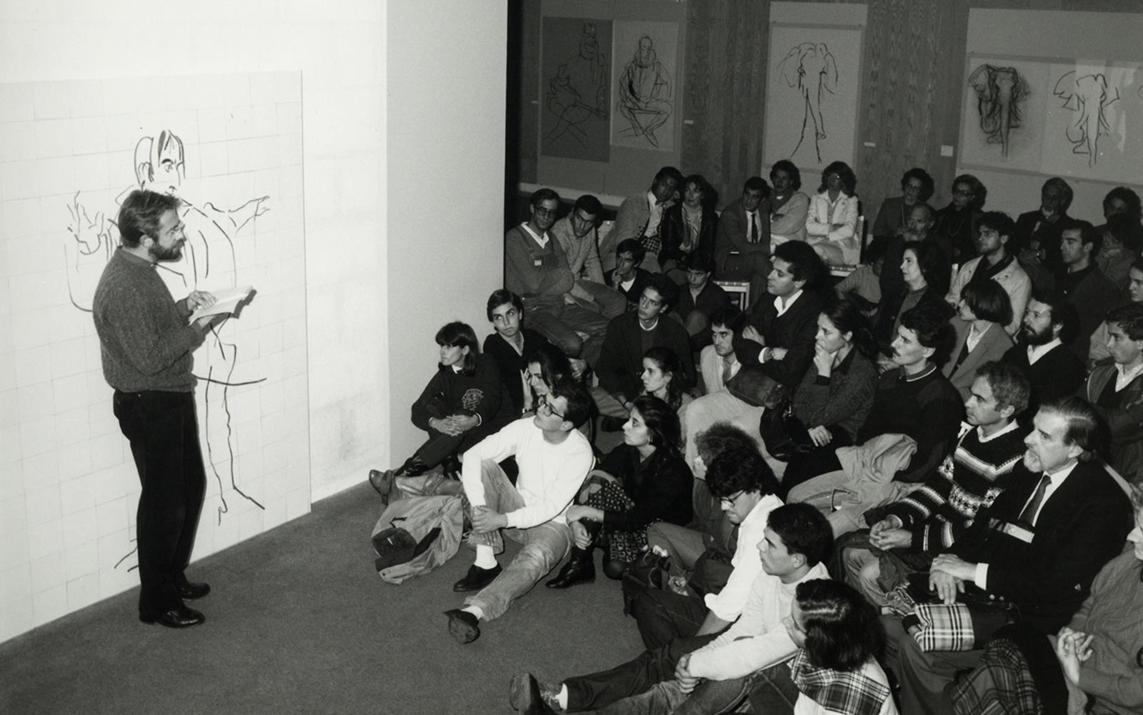 Pomar. 1 Ano de Desenho. 4 Poetas no Metropolitano de Lisboa