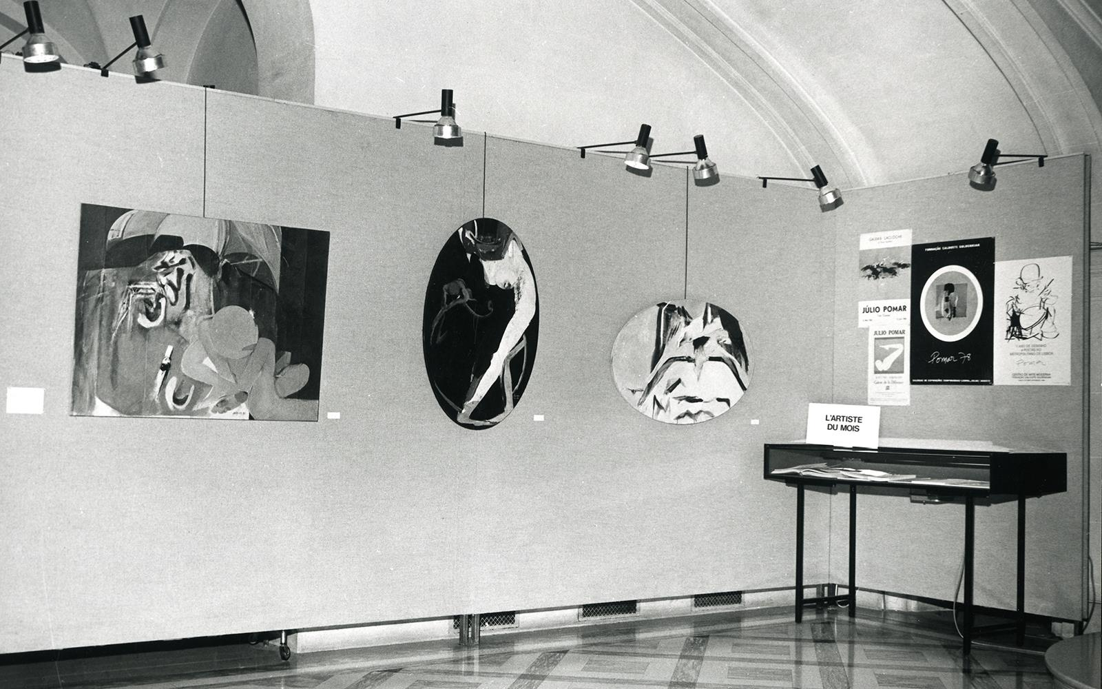 L'Artiste du Mois. Júlio Pomar