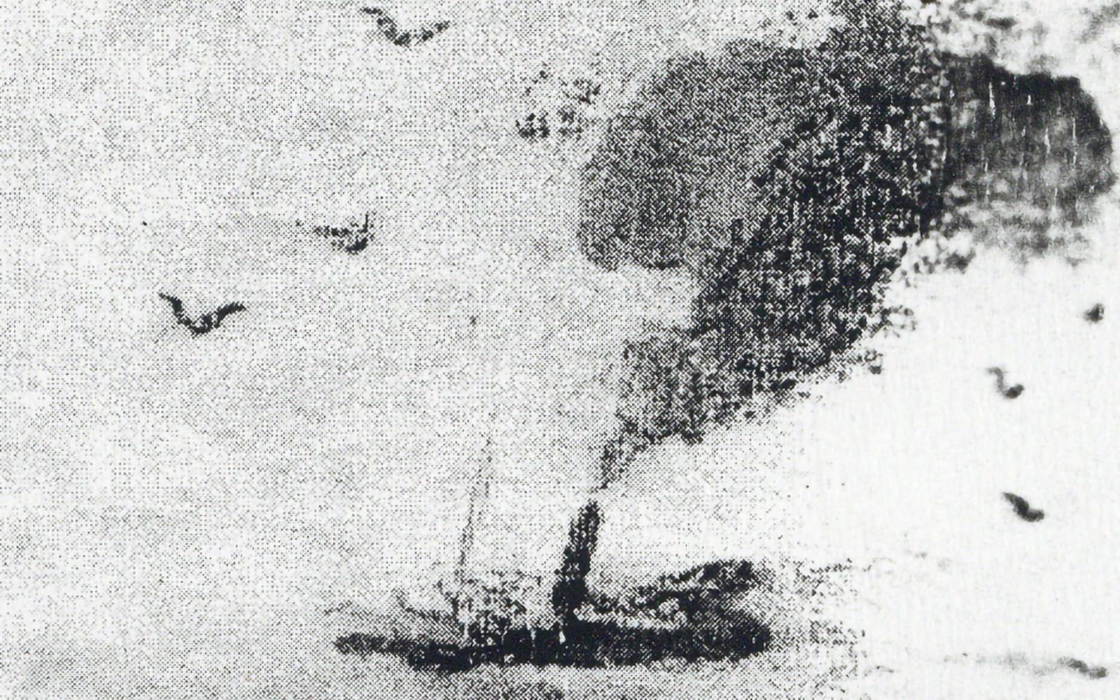 Júlio Pomar. Premières Études pour «Ulysse et les Sirènes» et «Odes Maritimes»