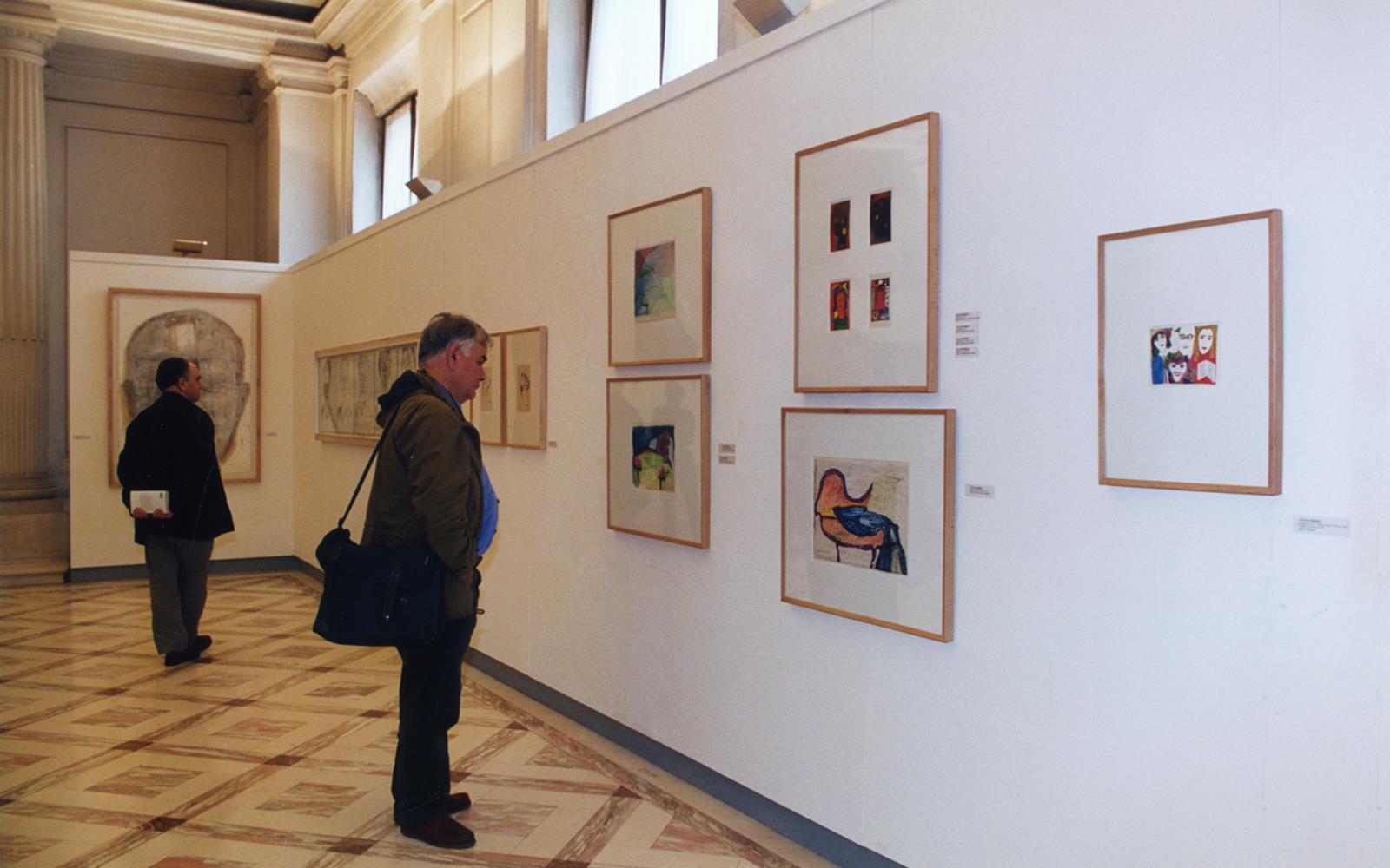 Autoportraits. Œuvres sur Papier de la Collection du Centre d'Art Moderne José de Azeredo Perdigão de la Fondation Calouste Gulbenkian