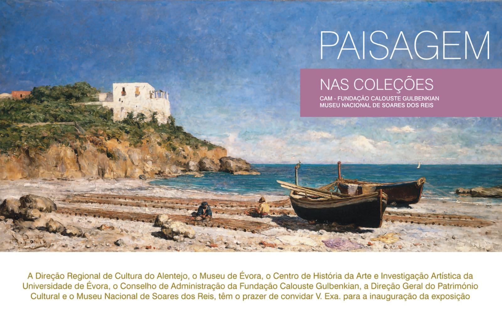 Paisagem nas Coleções CAM – Fundação Calouste Gulbenkian e Museu Nacional de Soares dos Reis