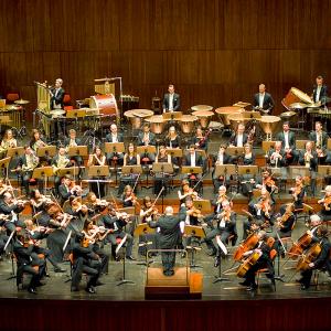 Mário Laginha with the Gulbenkian Orchestra