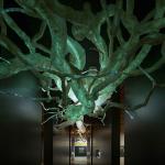 Aspeto da exposição - Neurónio gigante