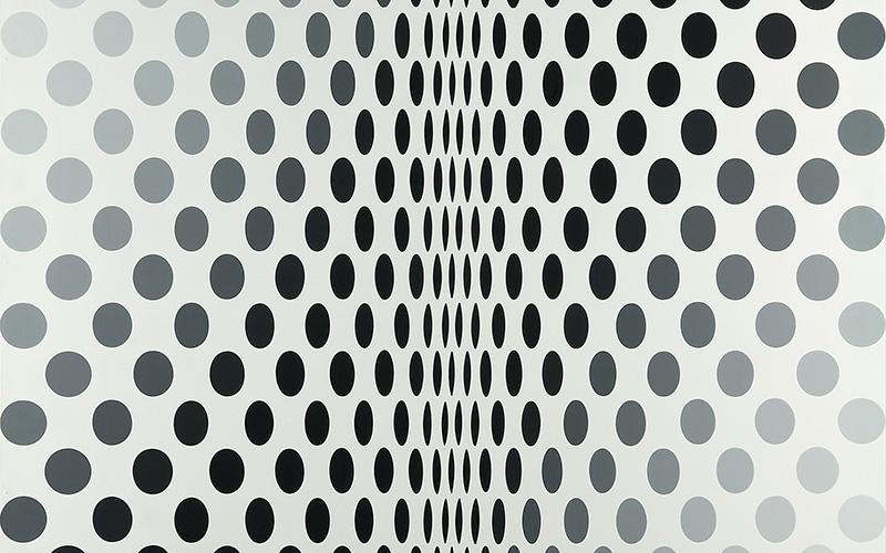 Metamorphosis. Bridget Riley, Museu Calouste Gulbenkian - Coleção Moderna