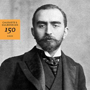 Selo comemorativo dos 150 anos de Calouste Gulbenkian