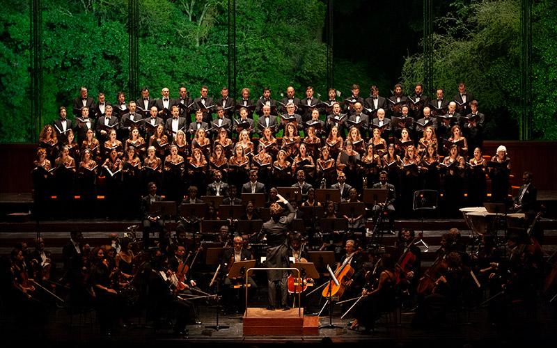 Coro e Orquestra Gulbenkian © Jorge Carmona