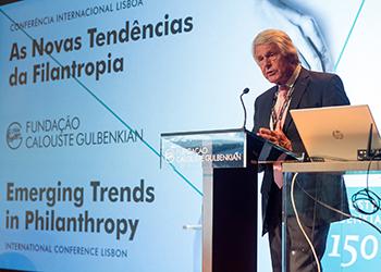 Rien van Gendt, conferência Filantropia