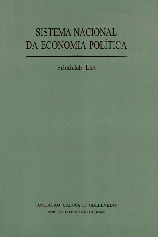 Sistema Nacional da Economia Politica