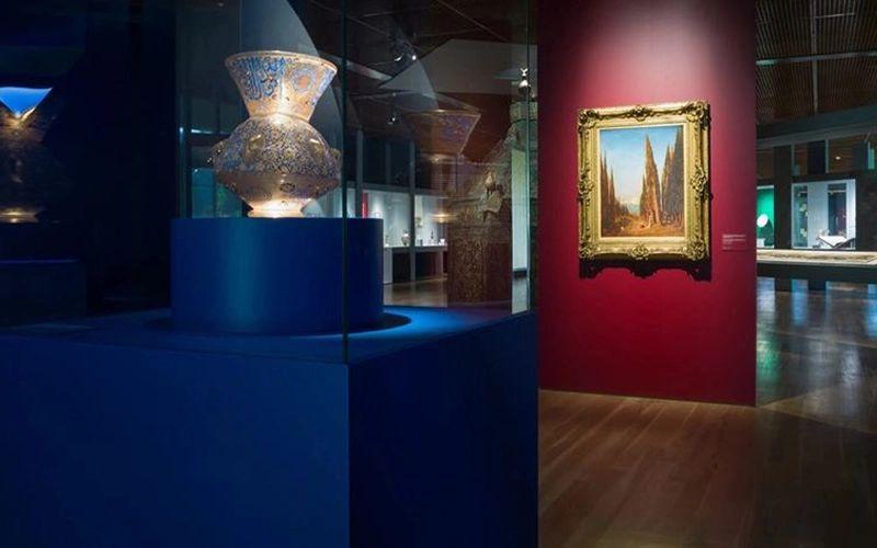 Aspetos da exposição O Gosto pela Arte Islâmica © Pedro Pina