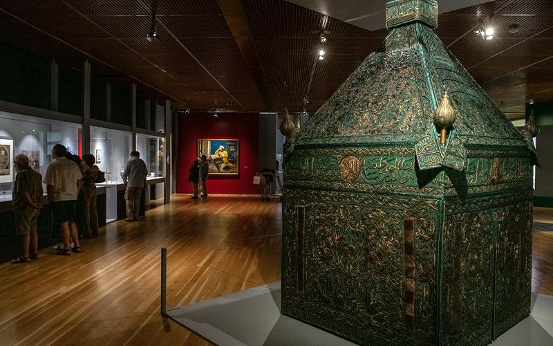 Aspeto da exposição O Gosto pela Arte Islâmica © DR