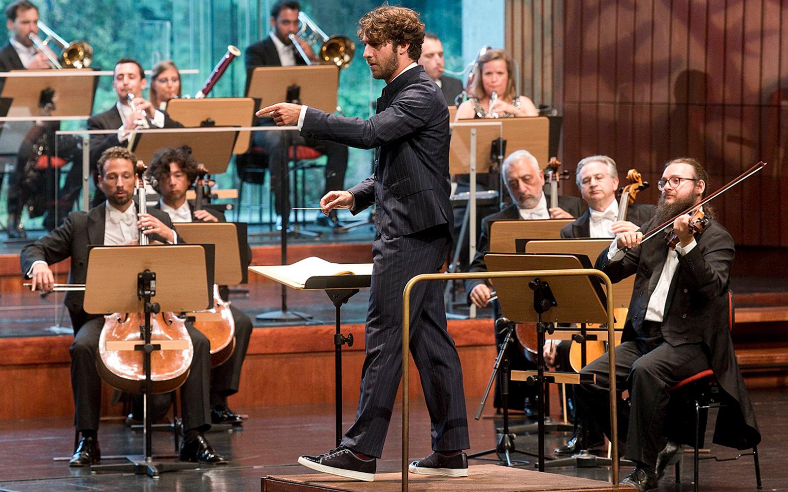 Concerto da Orquestra Gulbenkian com o Maestro Lorenzo Viotti © Márcia Lessa