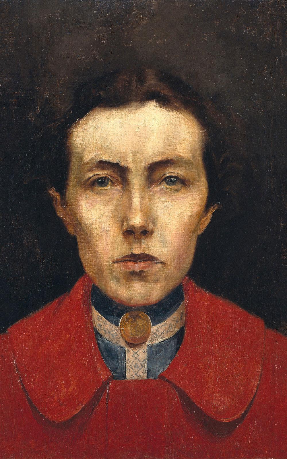 Aurélia de Souza (1866-1922), Autoretrato, 1900