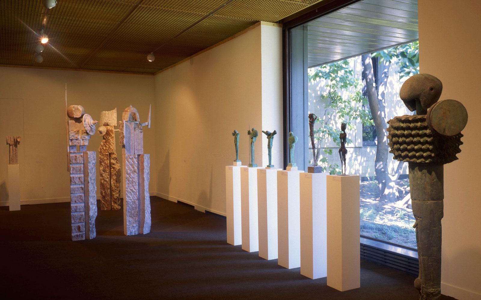 Aspeto de sala da exposição: João Cutileiro, Exposição Antológica © DR