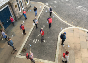 Rounding The Square With Norma D Hunter (Deveron Projects) © Jess Carnegie