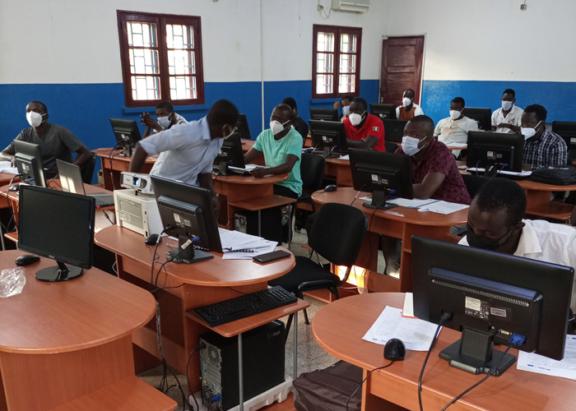Formação médica Guiné Bissau
