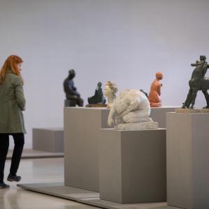 De corpo presente. Representações do corpo na Coleção Moderna