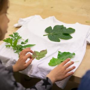 O tanino – impressão de folhas em tecido