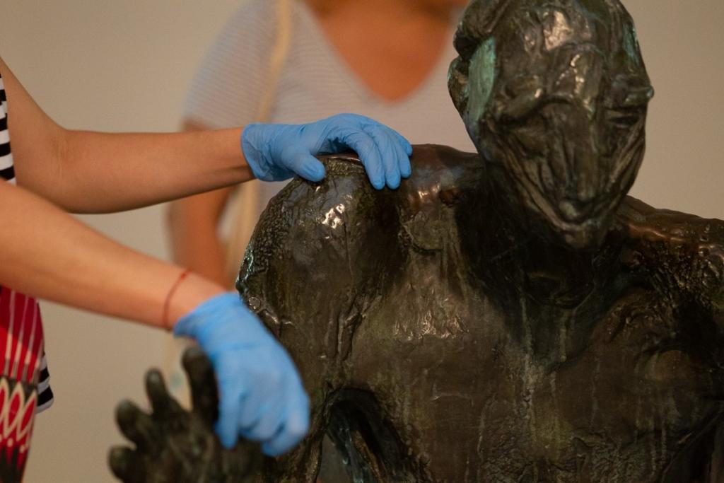 Museu acessível: práticas artísticas com públicos especiais