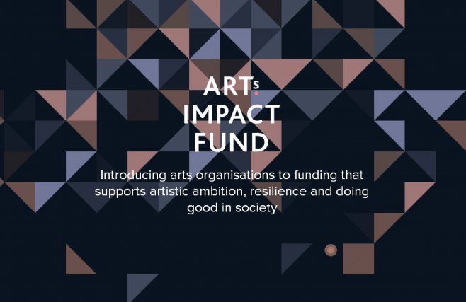 Arts impact logo and graphic
