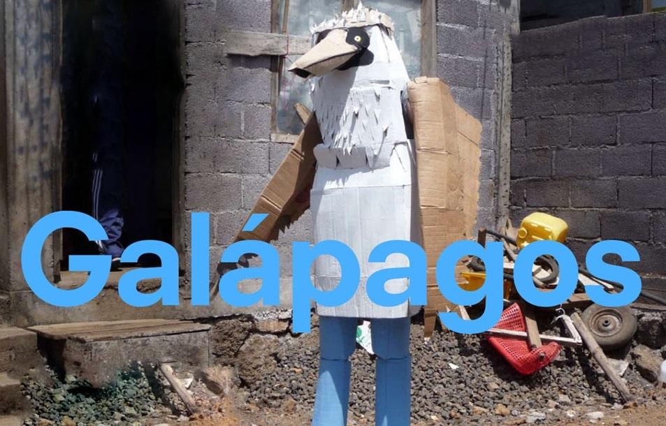An art work in Galápagos