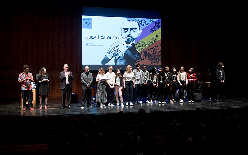 """Entrega de Premios """"Quem é Calouste?"""" © Marcia Lessa"""