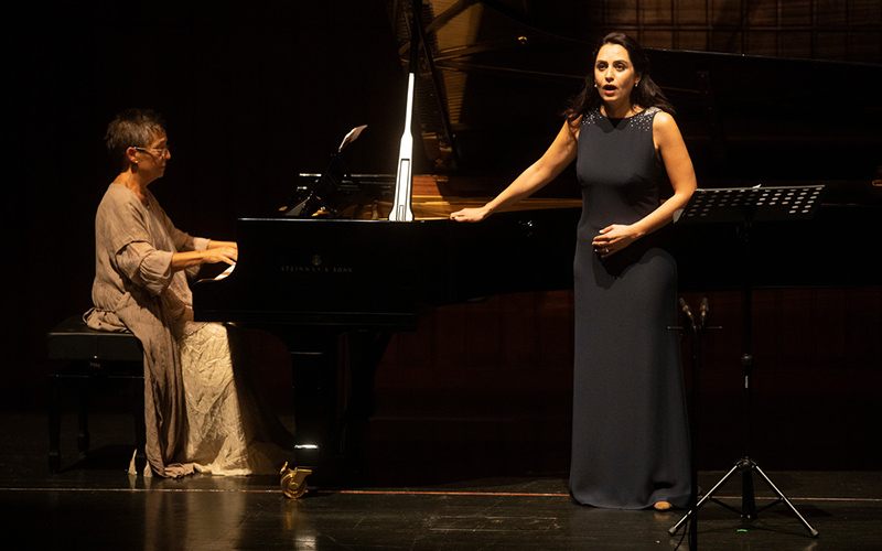 Maria João Pires & Talar Dekrmanjian © Jorge Carmona / Antena 2