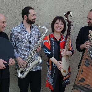 Músicos da Aga Khan Music Initiative
