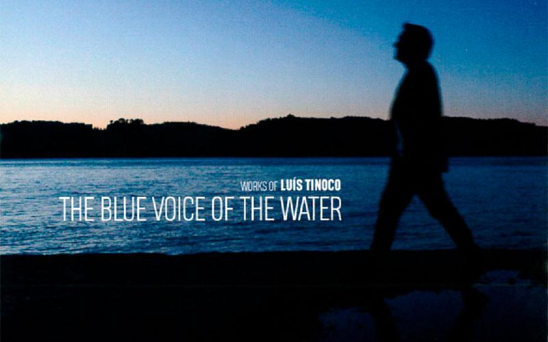 A voz azul da água