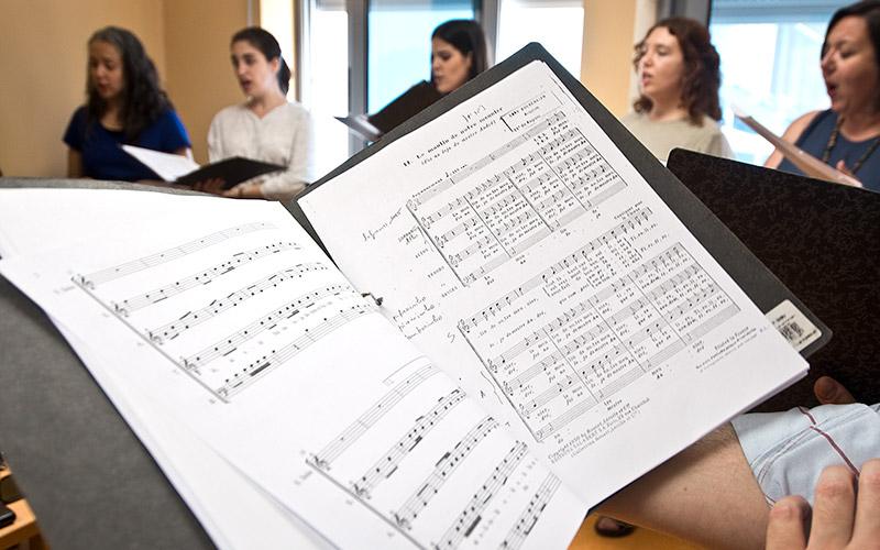 Coro Gulbenkian no Centro Dia Rainha D. Maria I - SCML