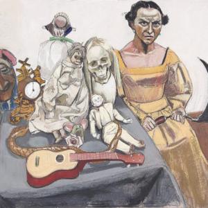 La narration dans la peinture de Paula Rego : sources et récits