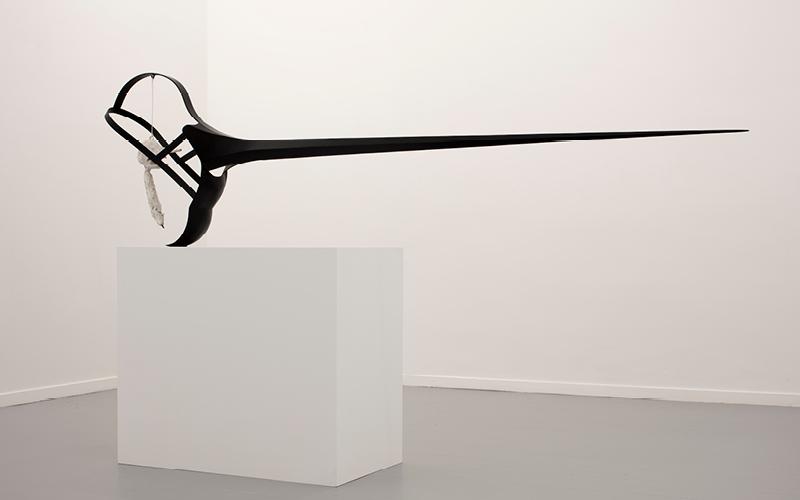 Rui Chafes et Alberto Giacometti. Gris, vide, cris