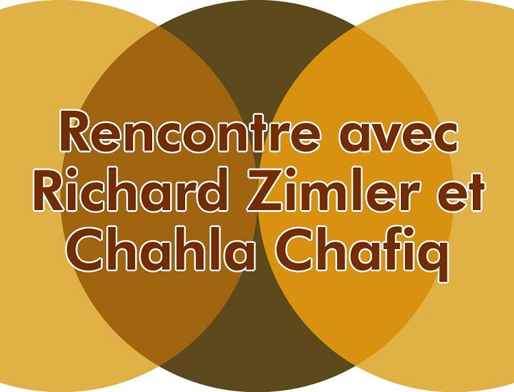 Rencontre avec Richard Zimler et Chahla Chafiq