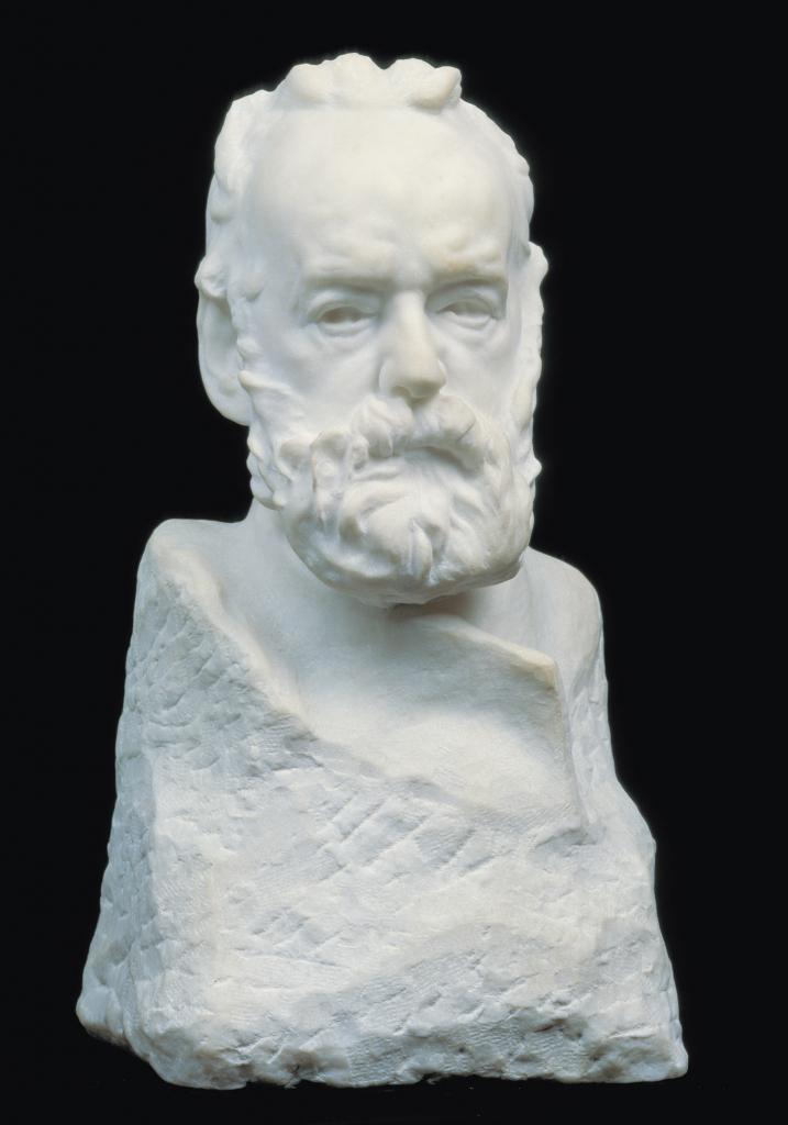 d393b8b675e Portrait bust of Victor Hugo. Auguste Rodin