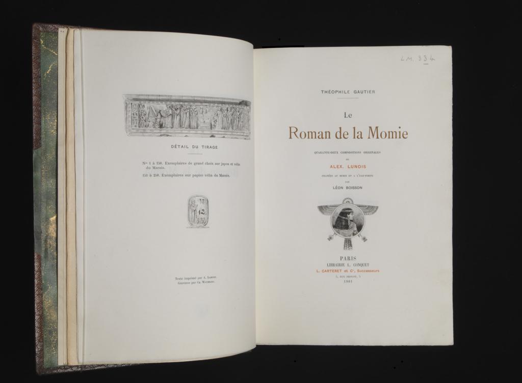 le roman de la momie museu calouste gulbenkian334 Composicoes Historia #15