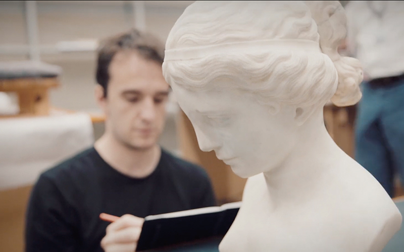 Work session at the Gulbenkian Museum. © hugomoura