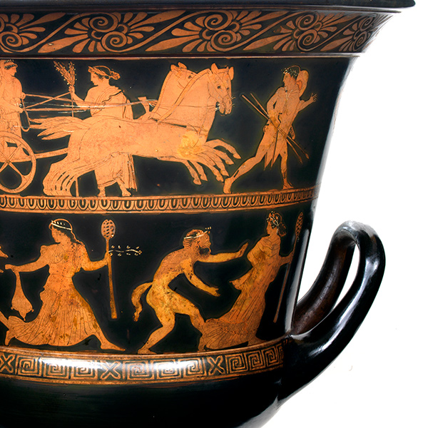 Greek vase, Attica, ca. 440 B.C.