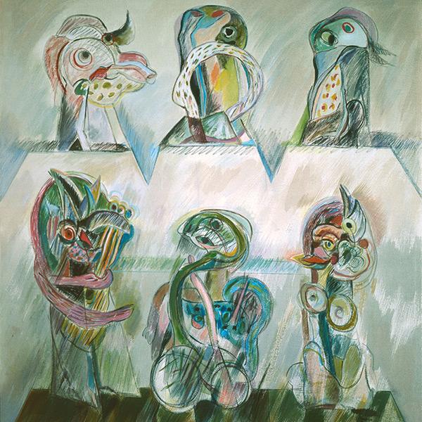 Maria Gabriel. Novas Figurações – 6 Personagens, 1982. Fundação Calouste Gulbenkian – Coleção Moderna.