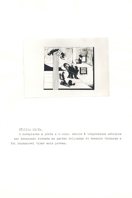 Relatórios do estágio realizado em Hamburgo, 1973. Arquivos Gulbenkian.