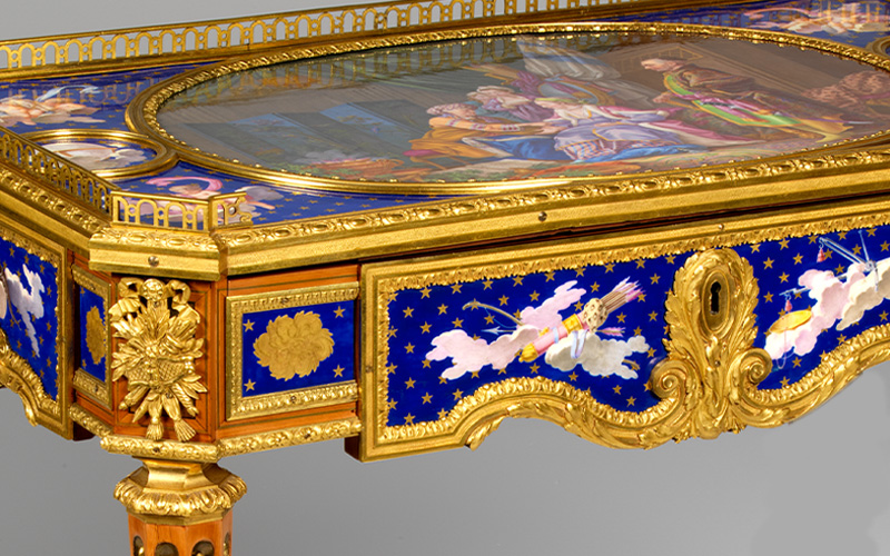 The Golden Age of French Furniture. From the Workshop to the Palace