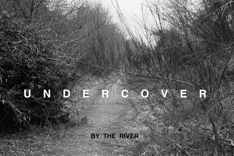 Willie Doherty, 'Undercover / Unseen', 1985. Black and white photography with text on aluminum. Modern Collection