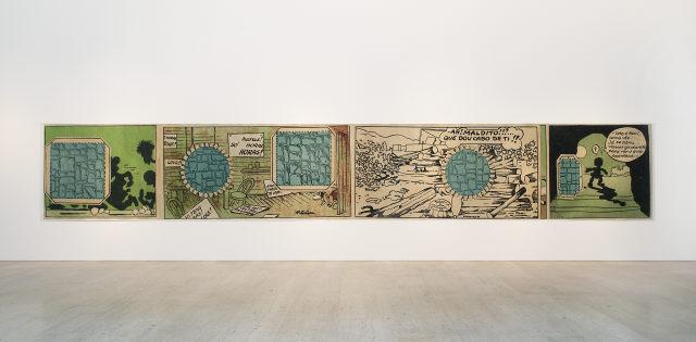 """Ana Vidigal, """"Bravura (não vaciles, põe-te a andar)"""", 2010. Impressão digital sobre papel. Coleção Moderna"""